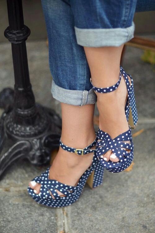 zapatos polka