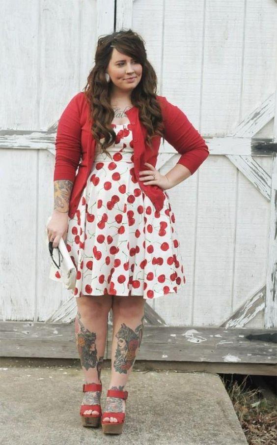Vestidos fashion para gorditas