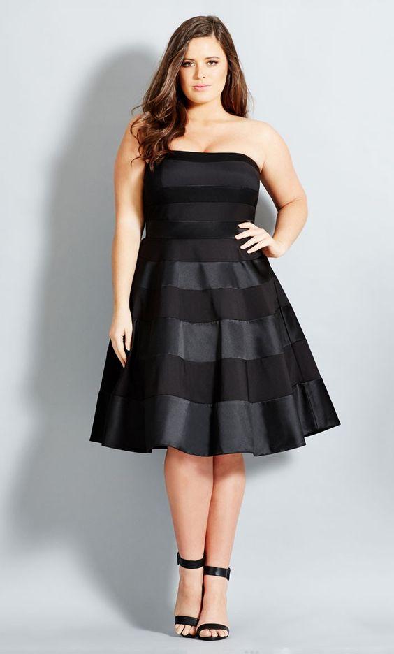 Que vestidos usar para gorditas