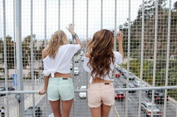 amigas puente