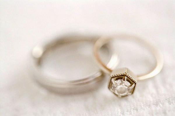 anillo vintage boda