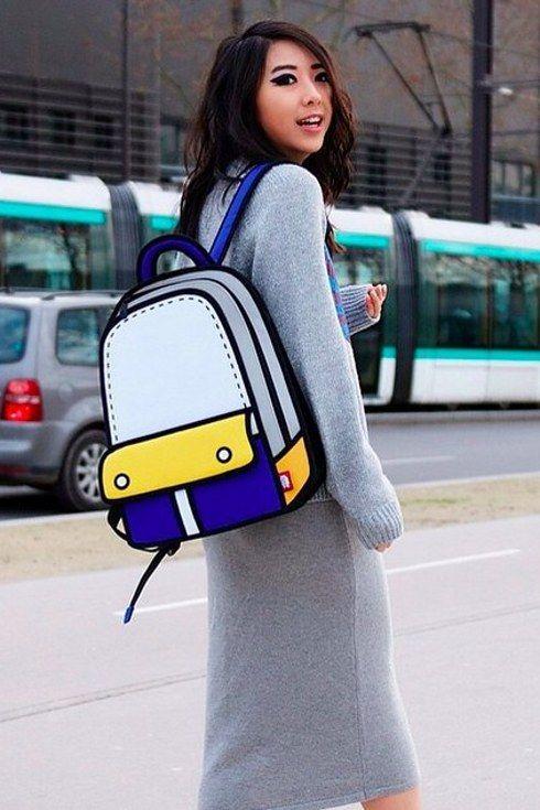 backpack increible