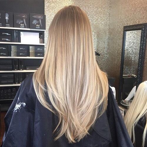 blondy girl
