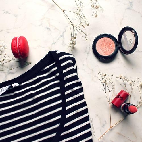 blush lips