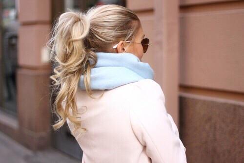 bufandas cabello
