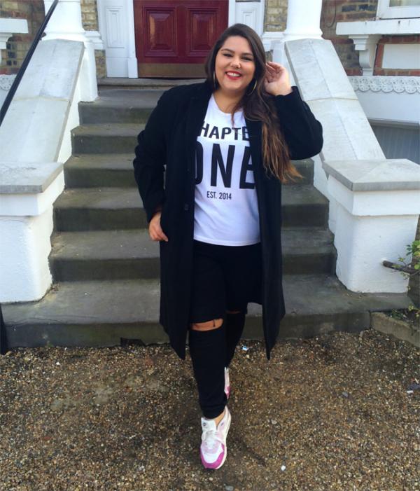 Más Chica Outfits Para Ser Estilo Negros Jeans La De Con Ripped xqwRH67