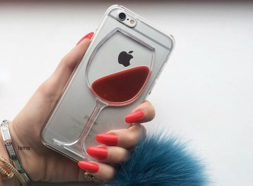 copa vino iphone