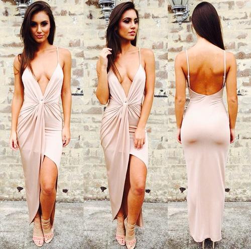 escote vestido