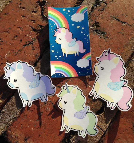 estampas unicornio