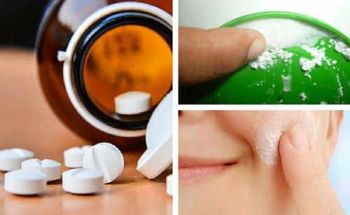 exfoliante aspirina