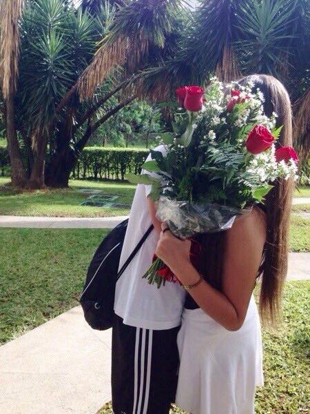 flores hombres
