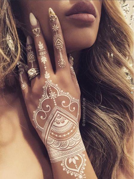 henna blanca mehndi