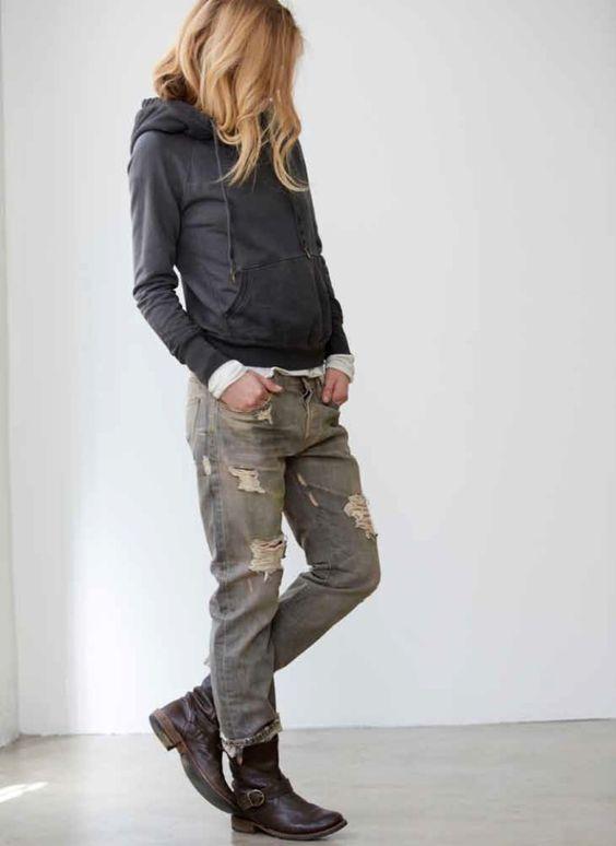 hoodie tomboy
