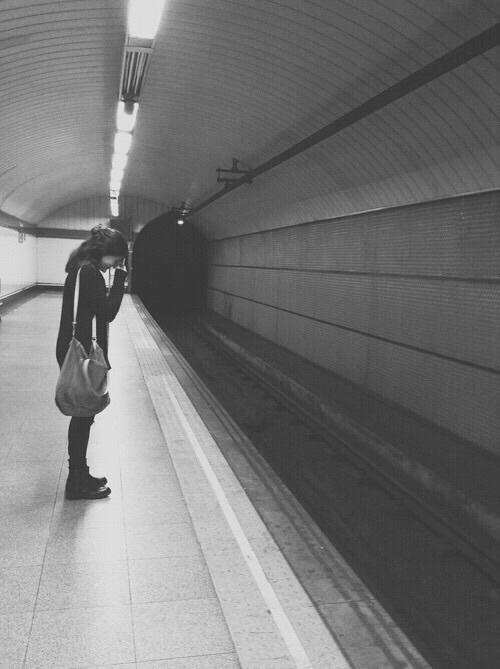 llorando metro