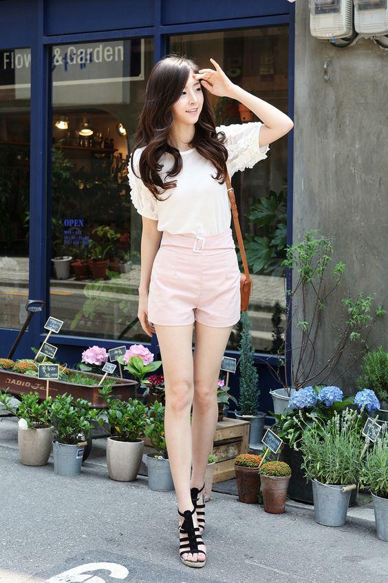 moda koreana rosa