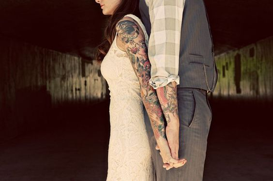 novioa tatuados
