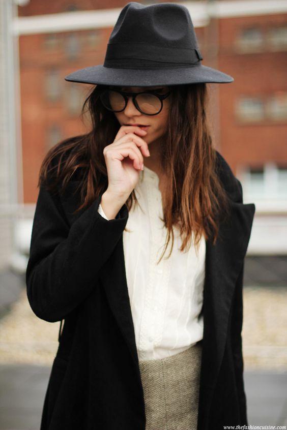 outfit con sombrero
