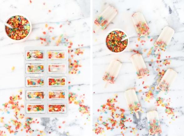 paletas con cereal