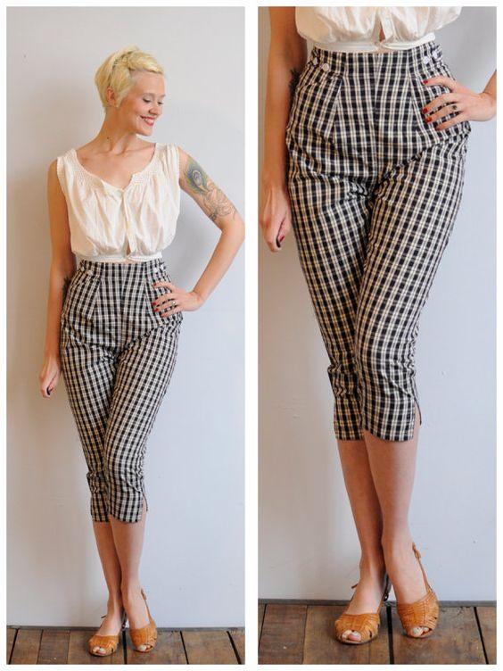 código promocional bb242 7b3ae Tips para usar pantalones Capri si eres chaparrita