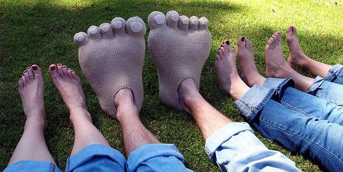 pies gigantes
