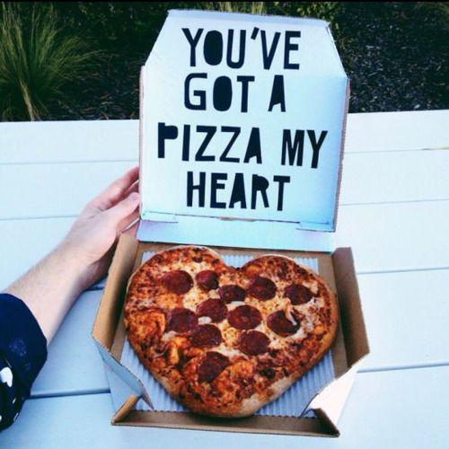 pizza corazon