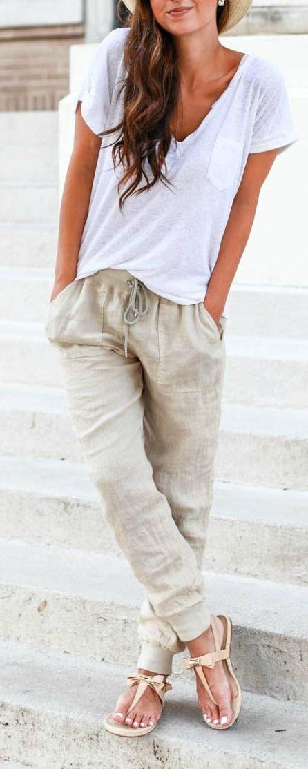 sandalias pantalon