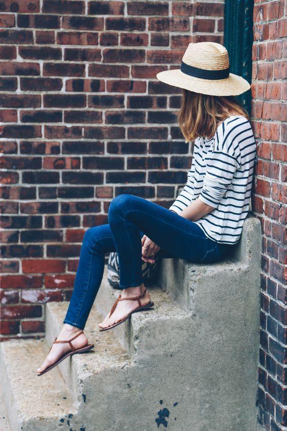 sandals-jeans