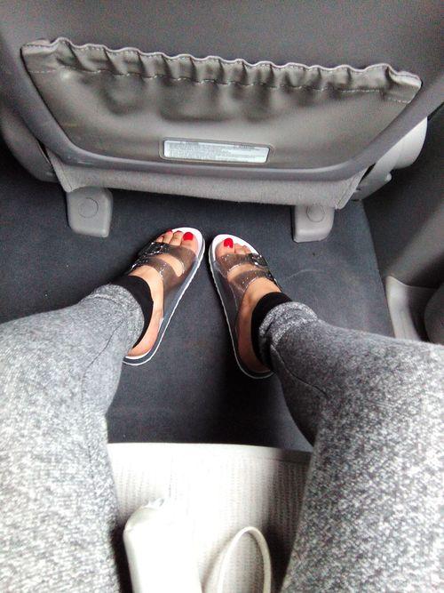 sandals pants
