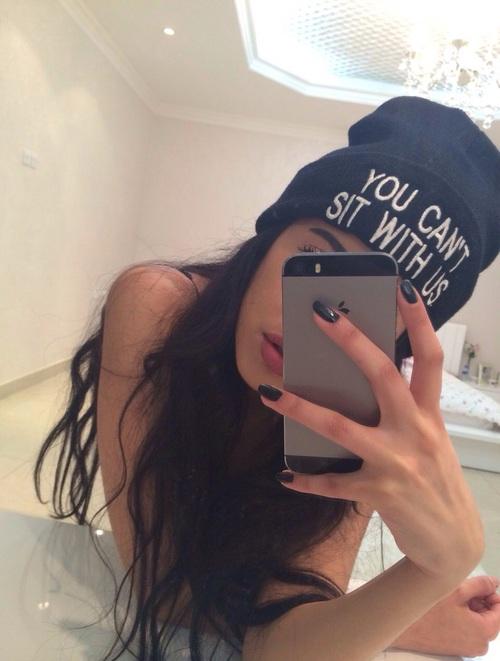 selfie de uñas