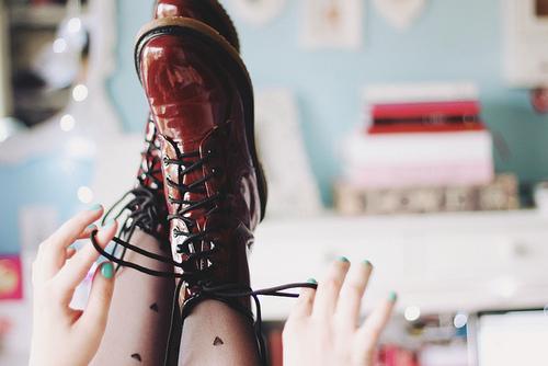 selfies shoes