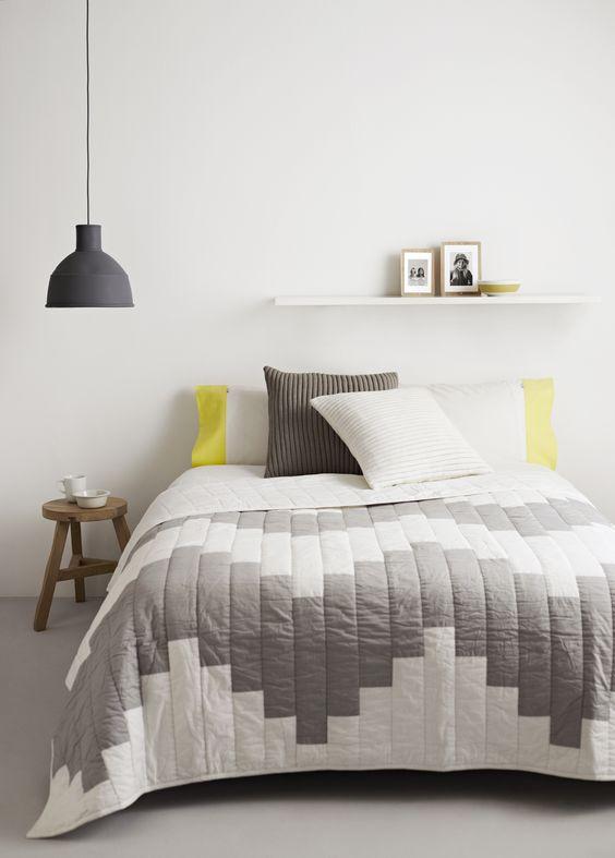 Ideas de habitaciones para chicas sencillas y con buen gusto - Mesitas de noche colgantes ...