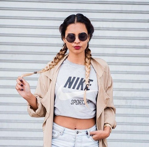 trenzas outfit