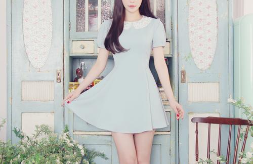 vestido koreana
