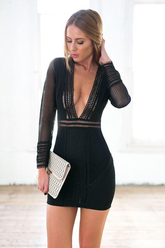 vestido stretch