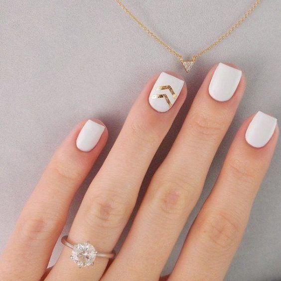 white artnail