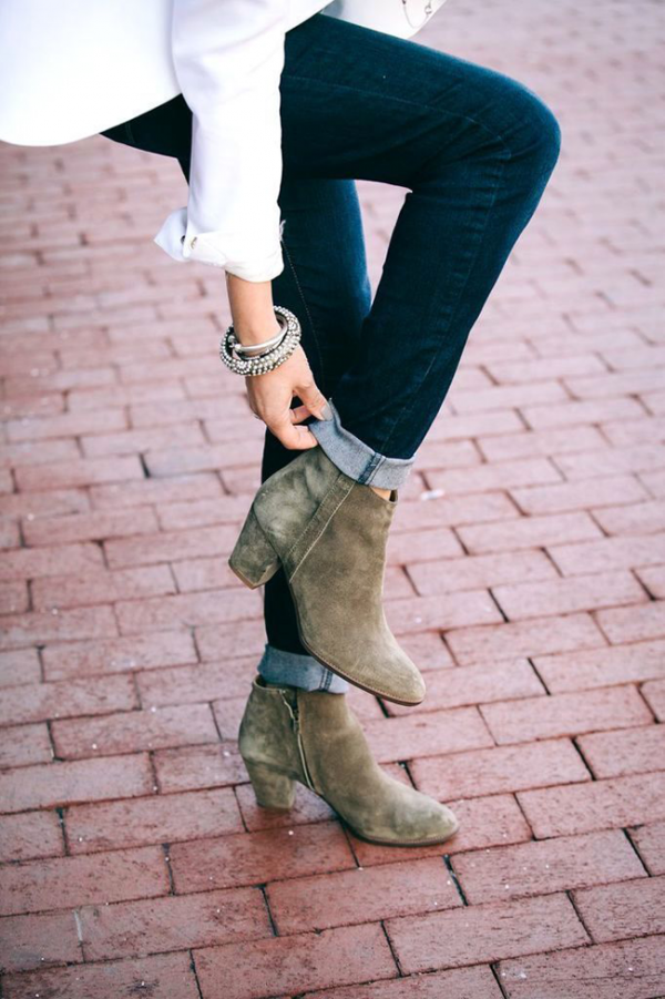 zapatos moda poses