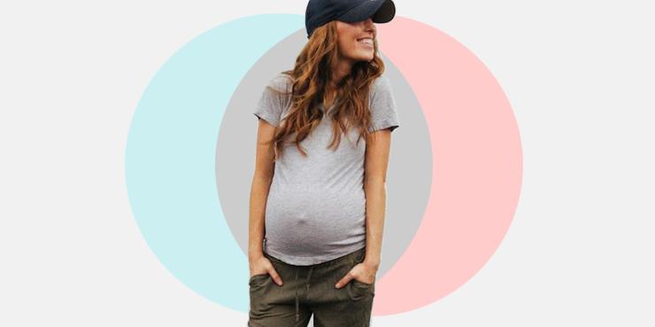 b91d4f842c659 Outfits para presumir tu pancita de embarazada
