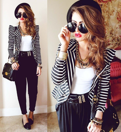 blazer stripes