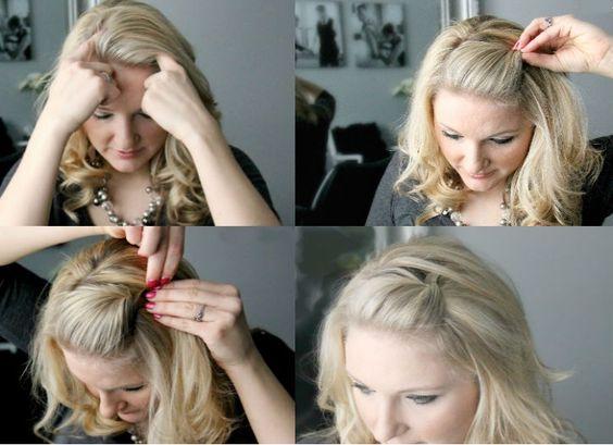 bobbypin hair