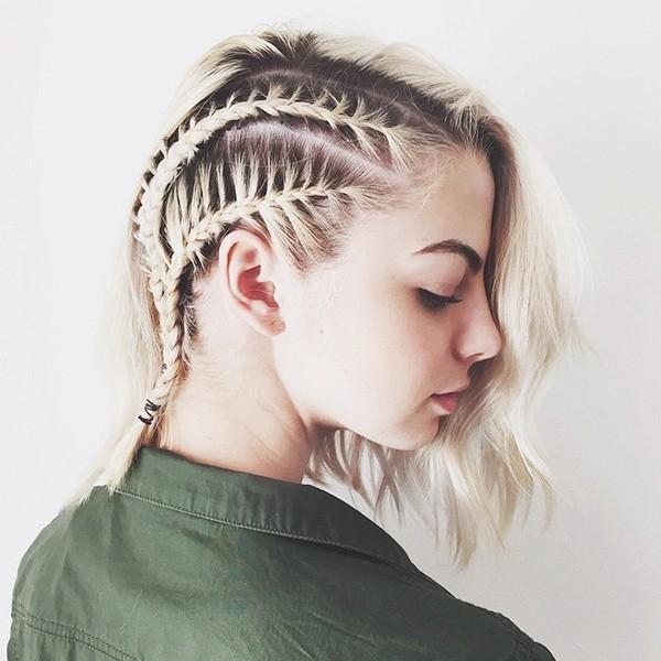 braids short