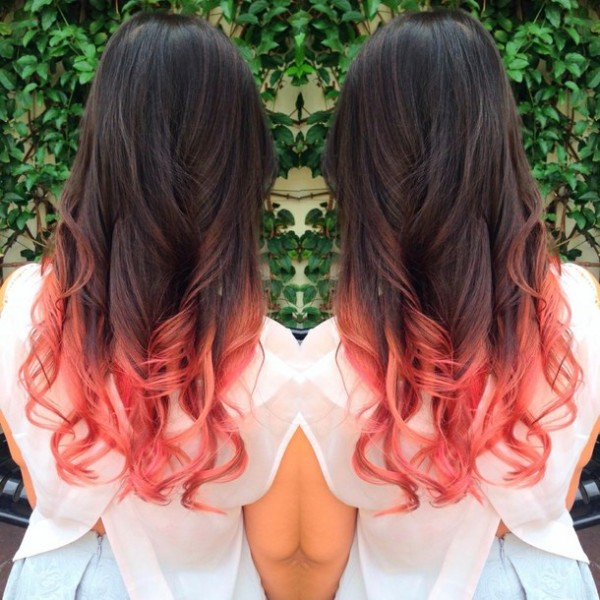 color rojo cabello