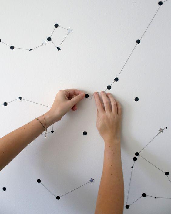 constelaciones en tu pared