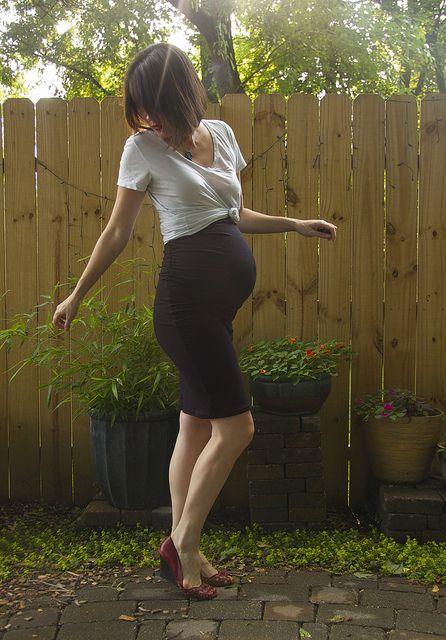 falda negra blanca