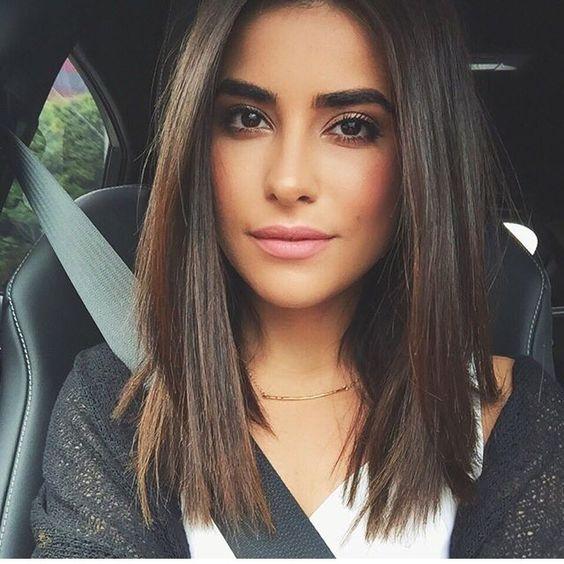 corte de pelo mujer al hombro