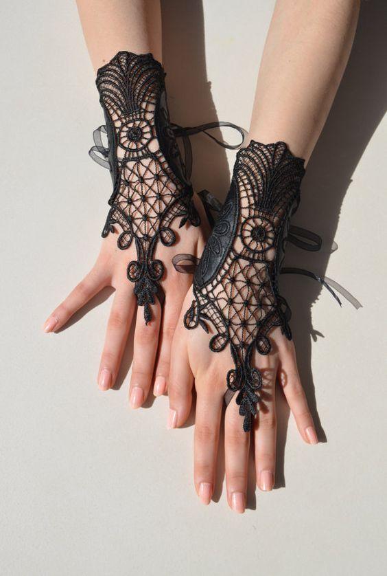 guantes lindos