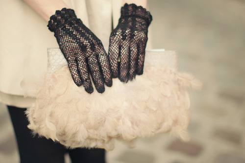 guantes tela