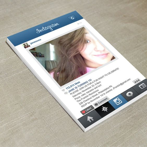 invitacion instagram