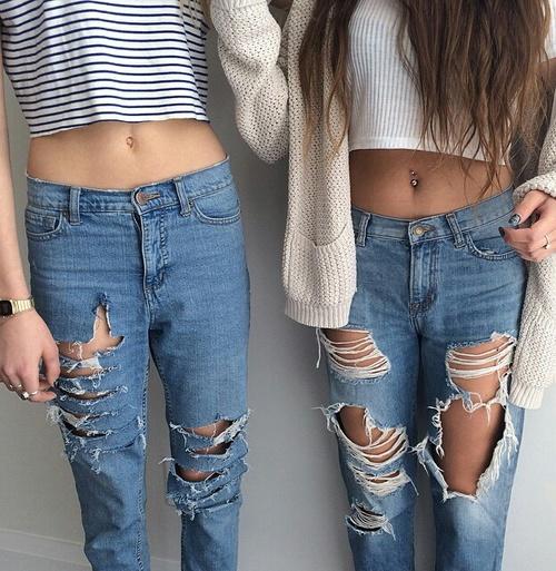 jeans comodos
