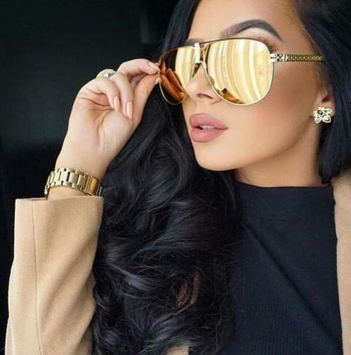 lentes dorados