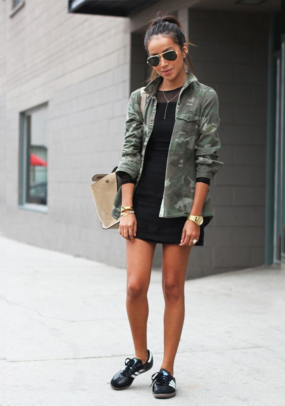 mini dress sneakers